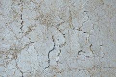 Grijze concrete textuurachtergrond barsten krassen schade royalty-vrije stock afbeelding