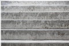 Grijze concrete trap Royalty-vrije Stock Afbeelding