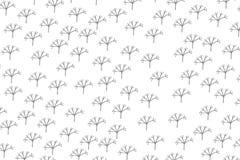 Grijze de installatie bloemen van het bloemblad vector als achtergrond voor Web Royalty-vrije Stock Foto