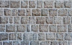 Grijze de textuur abstracte achtergrond van de steenmuur Stock Foto