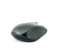 Grijze draadloze muis op geïsoleerde achtergrond Stock Fotografie