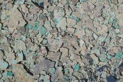 Grijze en blauwe grint of vuilnistextuur royalty-vrije stock afbeelding