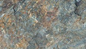 Grijze en bruine graniettextuur, gedetailleerde die structuur van graniet in natuurlijk voor achtergrond wordt gevormd en ontwerp Stock Foto