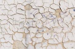 Grijze gebarsten muurtextuur Royalty-vrije Stock Fotografie