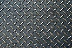 Grijze gekleurde bac van de diamantplaat Stock Afbeelding