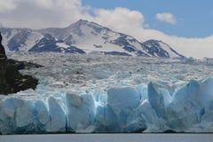 Grijze Gletsjer Stock Afbeelding