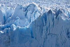 Grijze Gletsjer - Patagonië in Chili Stock Foto