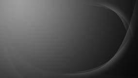 Grijze golvende gradiëntachtergrond Stock Foto's