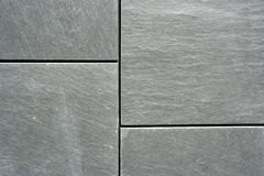 Grijze granietmuur Royalty-vrije Stock Foto's