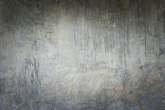 Grijze grunge concrete muur Royalty-vrije Stock Fotografie