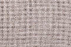 Grijze het canvasachtergrond van de linnendoek Stock Afbeelding