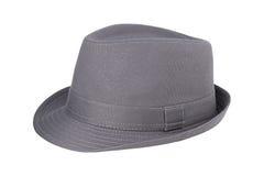 Grijze hoed Stock Afbeelding