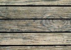 Grijze houten achtergrond Natuurlijke houten textuur met horizontale lijnen Royalty-vrije Stock Foto