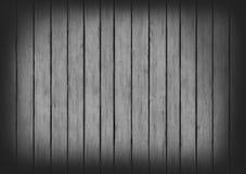 Grijze houten de textuurachtergrond van het panelenontwerp Royalty-vrije Stock Foto