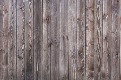 Grijze houten muur Stock Foto's