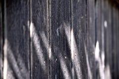 Grijze houten omheining Stock Afbeelding