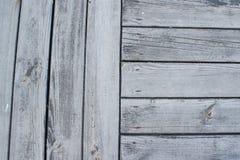 Grijze houten oppervlakteachtergrond Stock Foto's