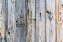 Grijze houten textuurachtergrond Stock Fotografie