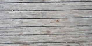 Grijze houten vloermuur Stock Foto's