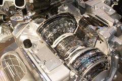 Grijze interne motor Royalty-vrije Stock Afbeelding