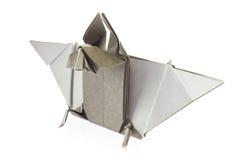 Grijze knuppel van origami Royalty-vrije Stock Foto