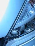 Grijze koplamp Stock Foto's