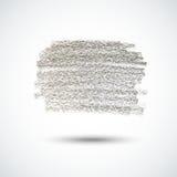 Grijze krijttextuur Royalty-vrije Stock Afbeeldingen