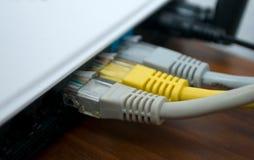 Grijze modem stock foto's