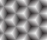 Grijze naadloze textuur. Vectorachtergrond Royalty-vrije Stock Afbeeldingen