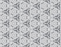 Grijze naadloze textuur. Vectorachtergrond Stock Foto's