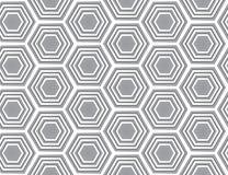 Grijze naadloze textuur. Vectorachtergrond Royalty-vrije Stock Foto's