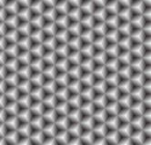 Grijze naadloze textuur. Vectorachtergrond Stock Foto