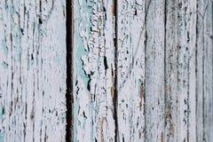 Grijze oude houten omheining Stock Afbeeldingen
