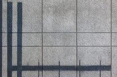 Grijze patroonmuur met lijn Royalty-vrije Stock Foto