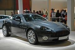 Grijze sportwagen royalty-vrije stock afbeeldingen