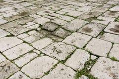Grijze steen het bedekken textuur Royalty-vrije Stock Foto's