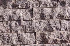 Grijze steenmuren Stock Afbeeldingen