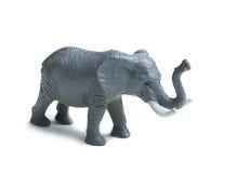 Grijze stuk speelgoed olifant Royalty-vrije Stock Fotografie