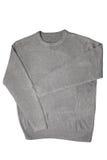 Grijze sweater Stock Foto