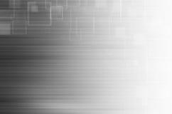 Grijze technologie abstracte achtergrond Stock Fotografie