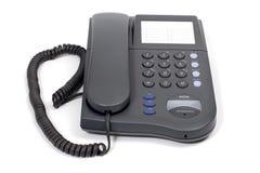Grijze telefoon Stock Foto's