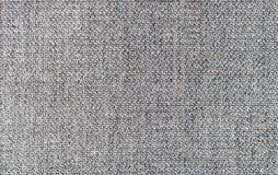 Grijze textielachtergrond Stock Afbeeldingen