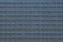 Grijze textuur van een stuk van oud glas met een patroon en barsten royalty-vrije stock foto