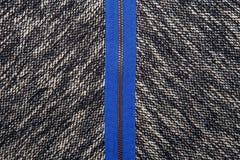 Grijze tweed zoals textuur, grijs wolpatroon, geweven zout en pe Stock Afbeelding