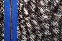 Grijze tweed zoals textuur, grijs wolpatroon, geweven zout en pe Stock Afbeeldingen