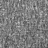 Grijze tweedtextuur, grijs wolpatroon, geweven zout en melange van de peperstijl zwart-witte stoffenachtergrond, gedetailleerd gr Stock Afbeeldingen