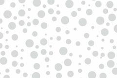 Grijze van de het concepten geometrische cirkel van het stippenpatroon walpaper de vorm vectorachtergrond voor Web en druk Stock Foto's