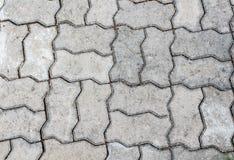 Grijze vloer concrete stenen Stock Foto