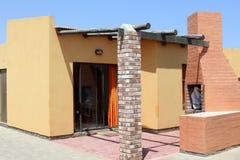 Gril à la maison de BBQ de vacances, Namibie Photos libres de droits