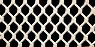 Gril blanc Fond noir images libres de droits
